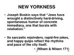 new yorkness