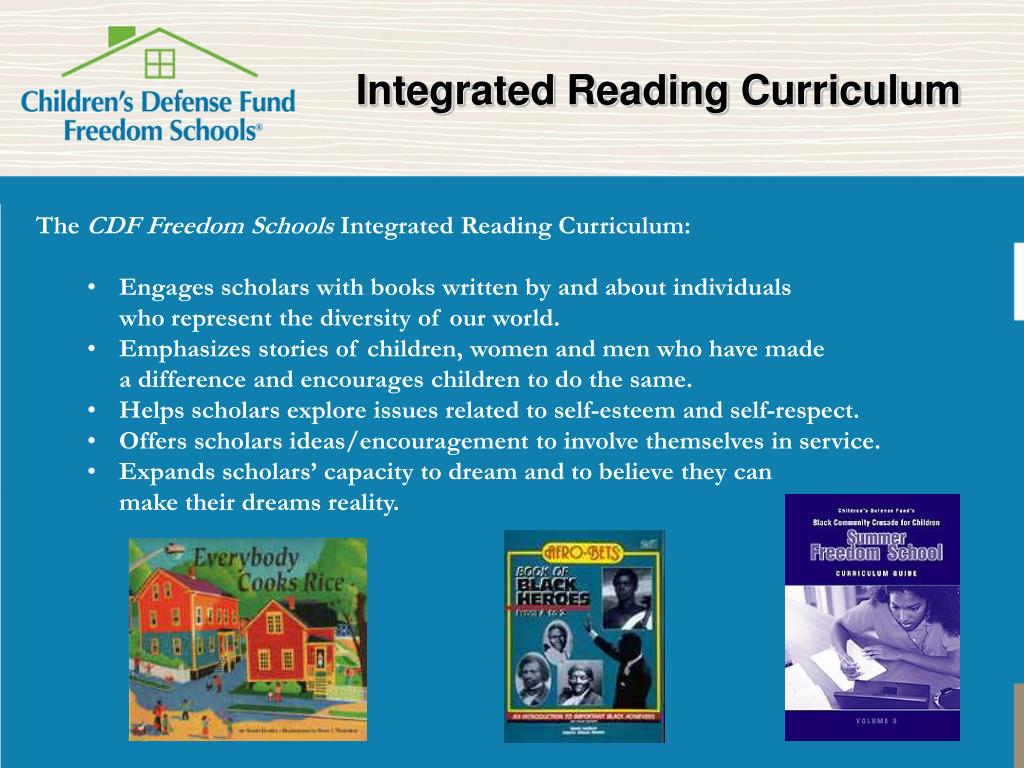 Integrated Reading Curriculum