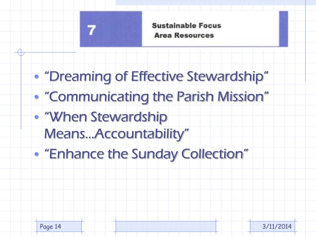"""Dreaming of Effective Stewardship"""