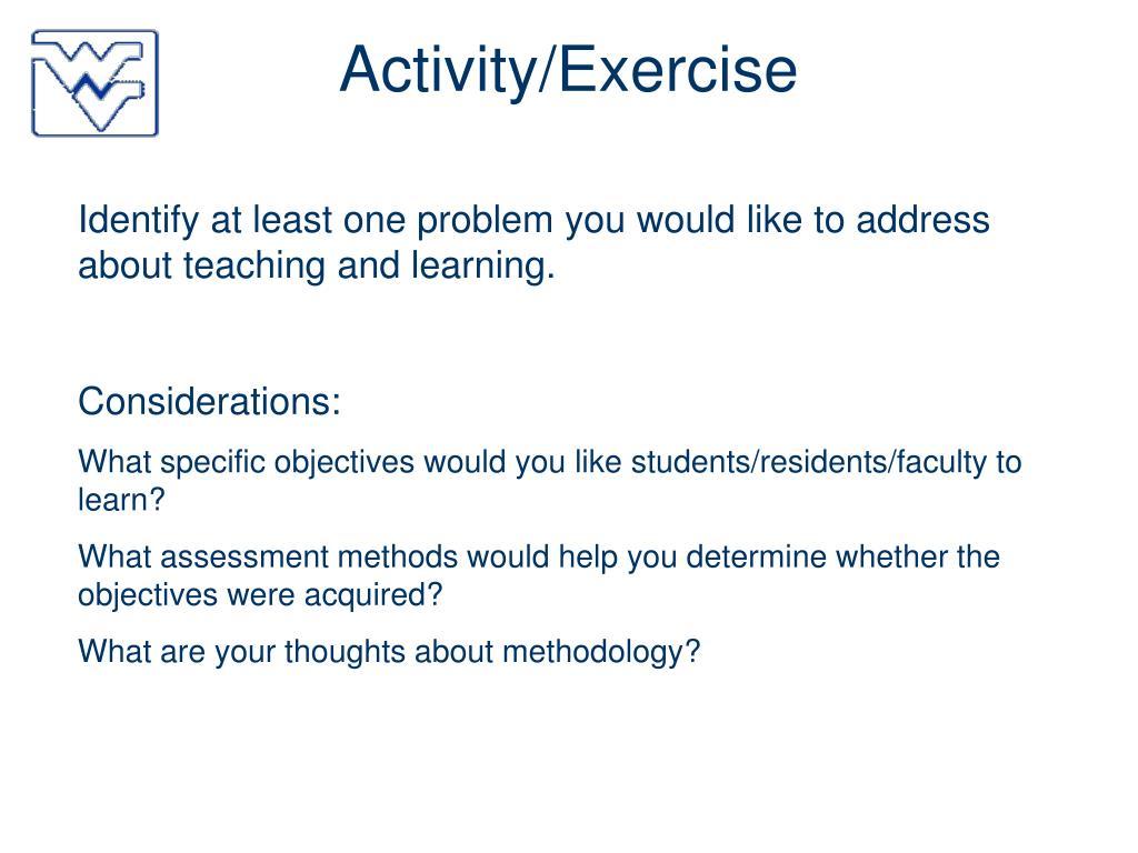 Activity/Exercise