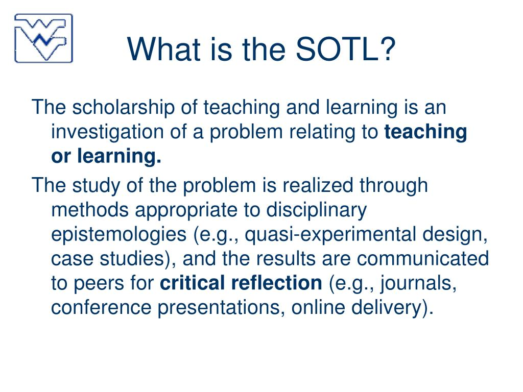 What is the SOTL?