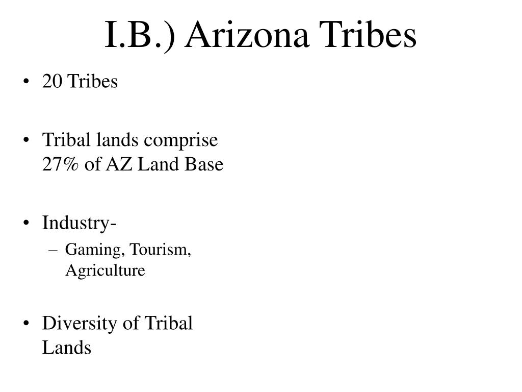 20 Tribes