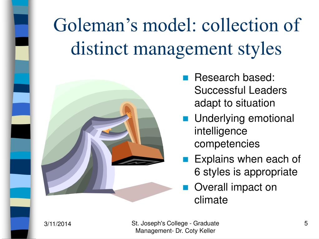 goleman 2000 styles of leadership Goleman d 2000 leadership that gets results harvard business review march april from ba 201 at upper iowa.