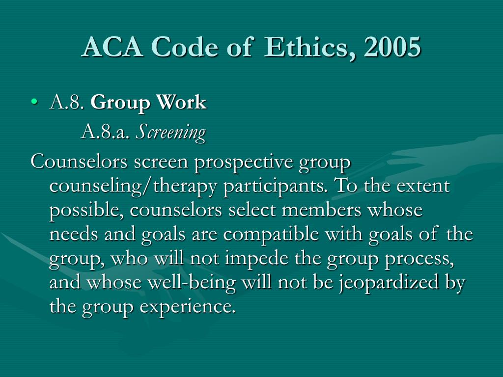 code of ethics 5 essay