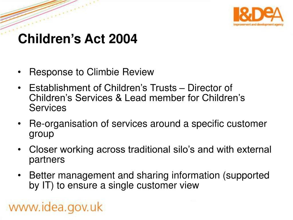 Children's Act 2004