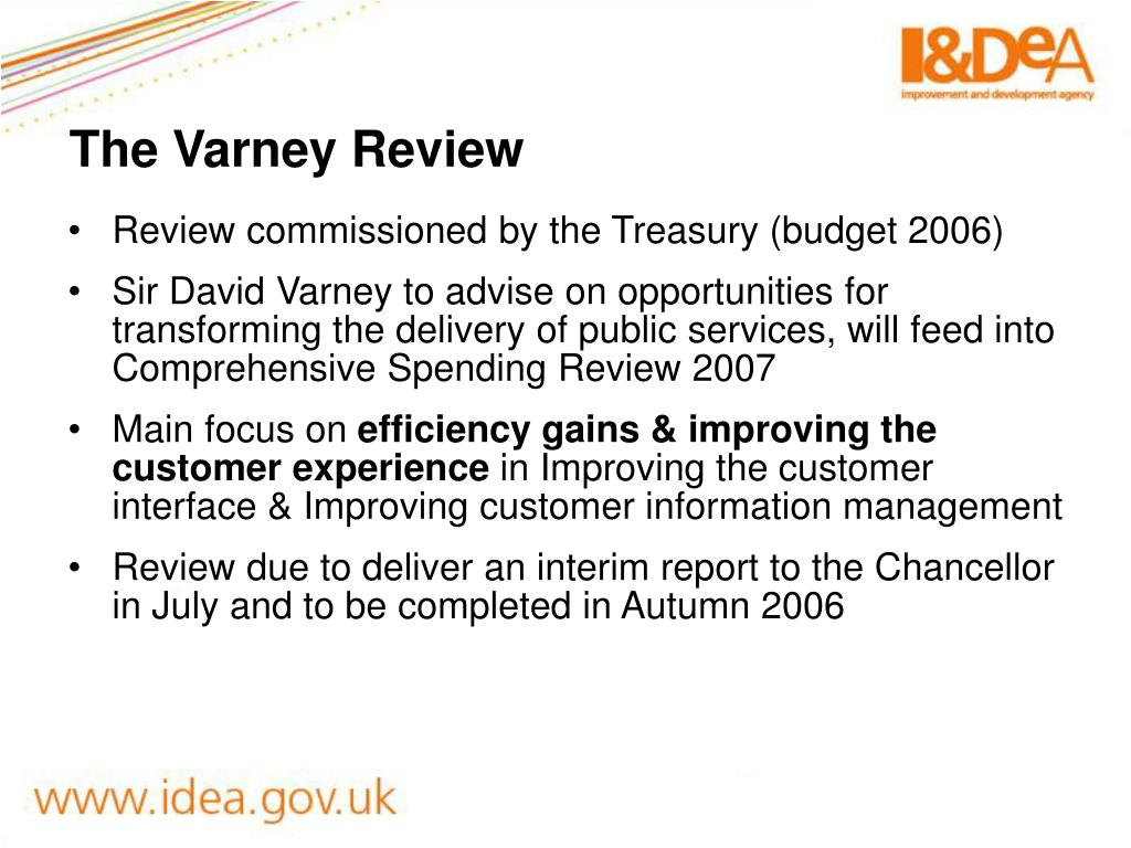 The Varney Review