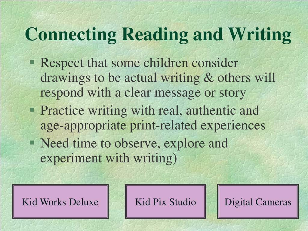 Connecting Reading and Writing