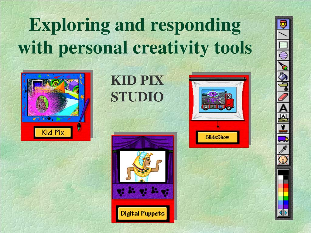 Exploring and responding with personal creativity tools