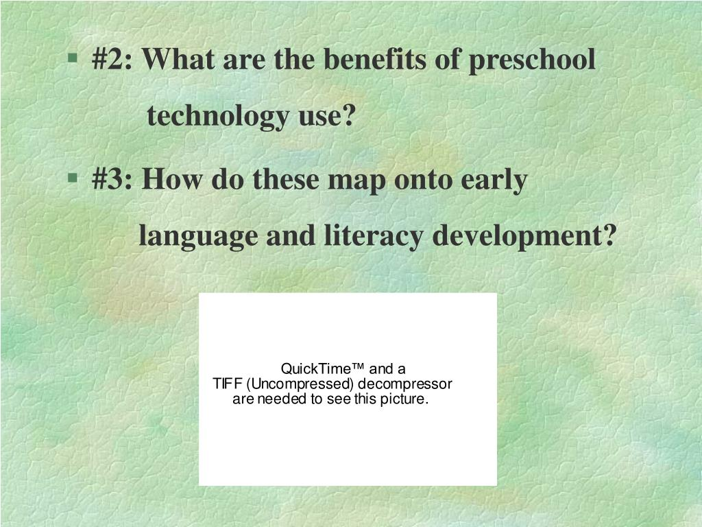 #2: What are the benefits of preschool