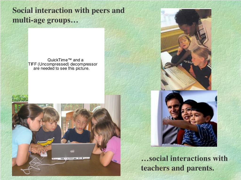…social interactions with