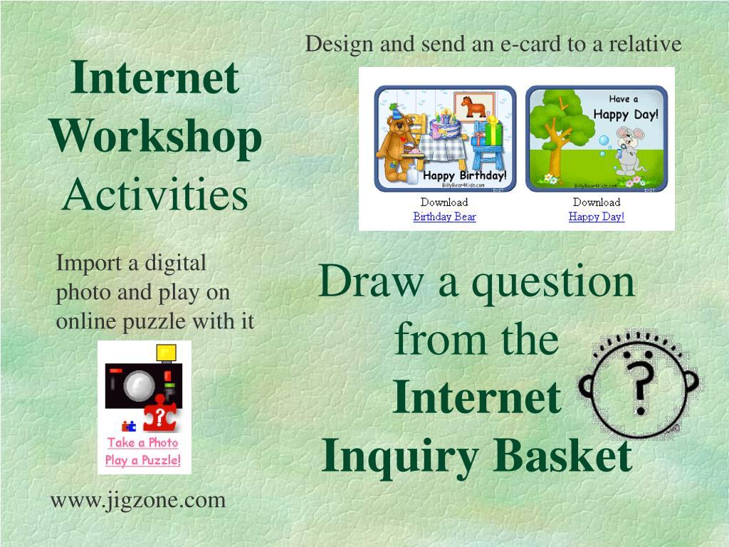 Internet Workshop