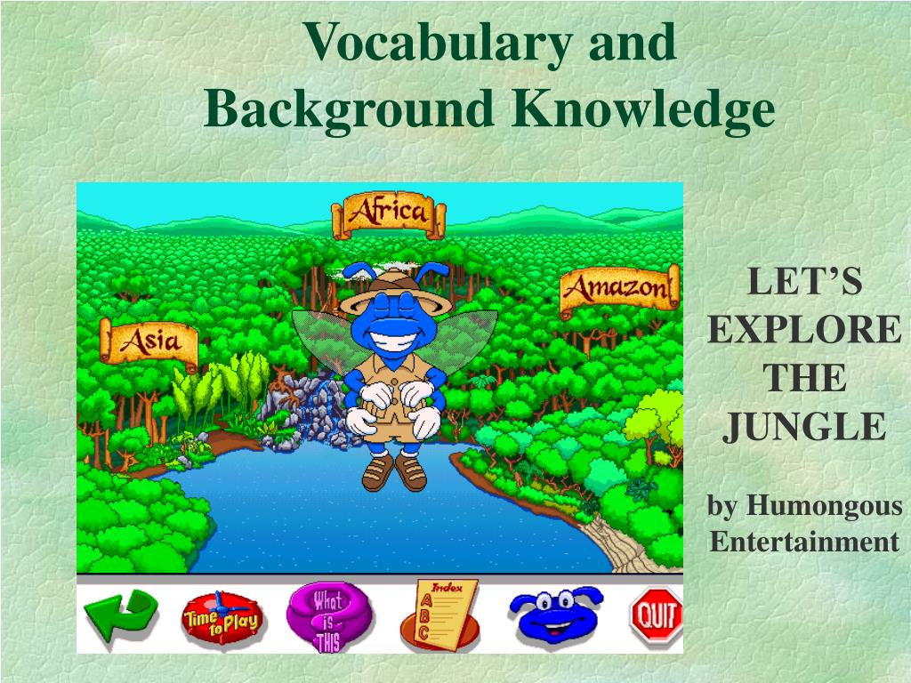 Vocabulary and