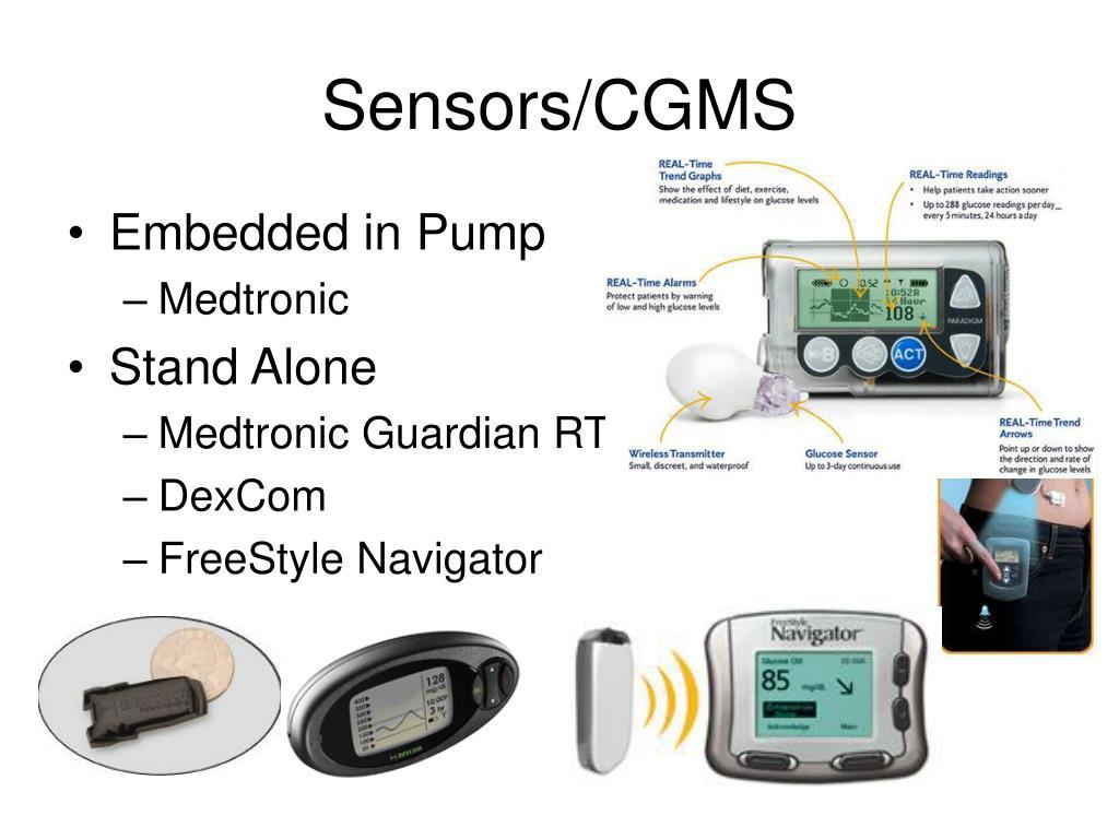 Sensors/CGMS