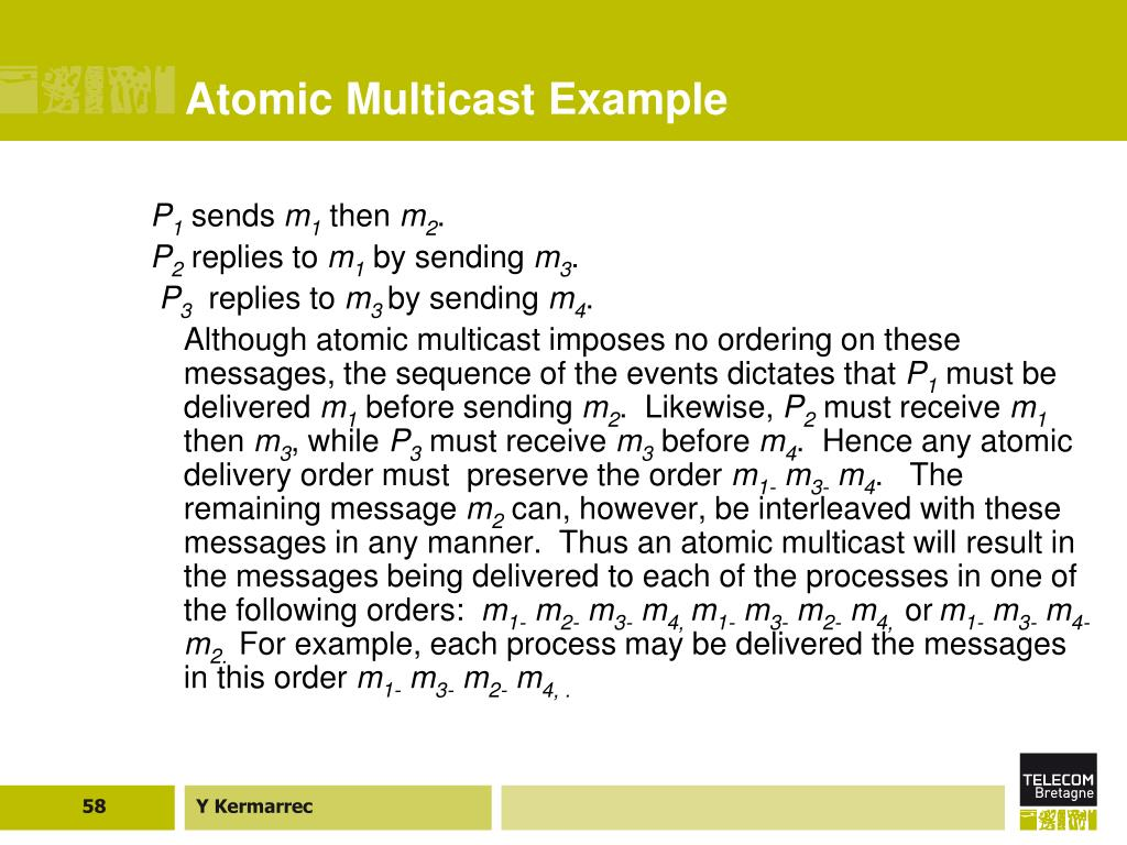 Atomic Multicast Example