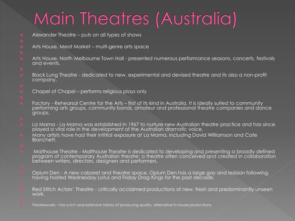 Main Theatres (Australia)
