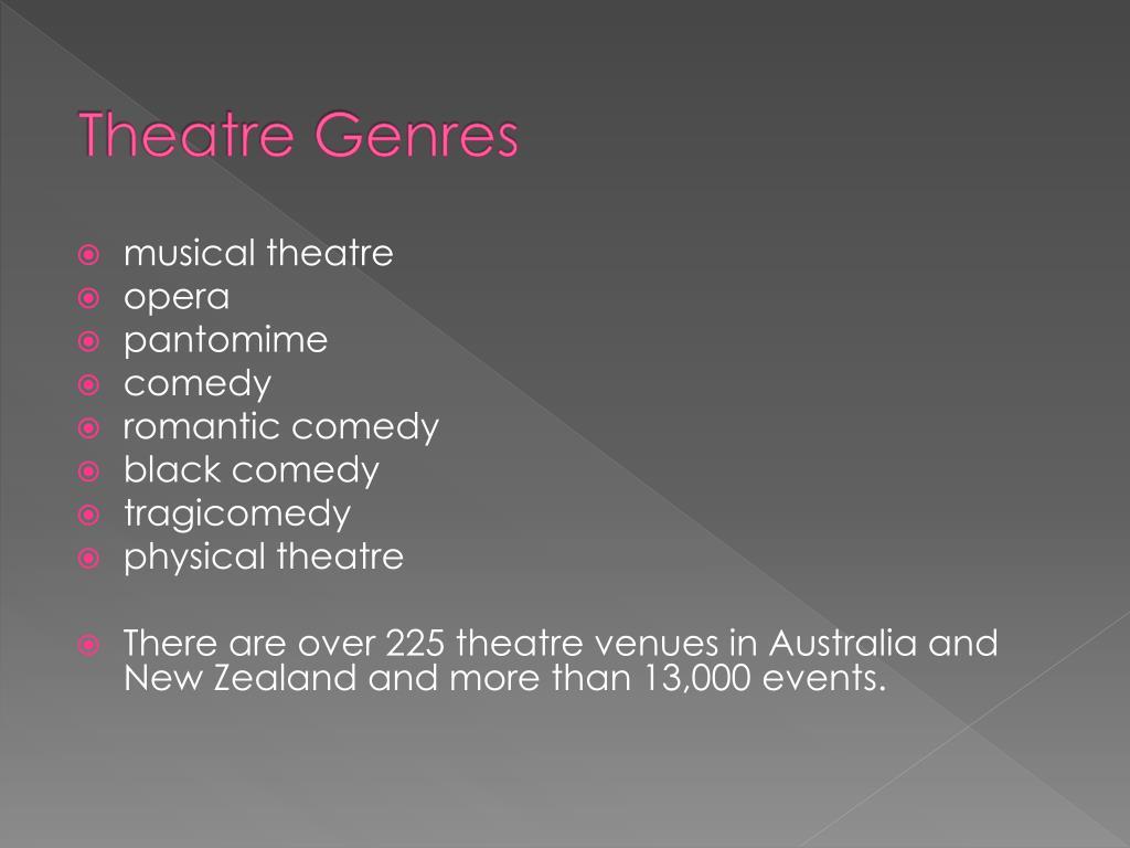 Theatre Genres