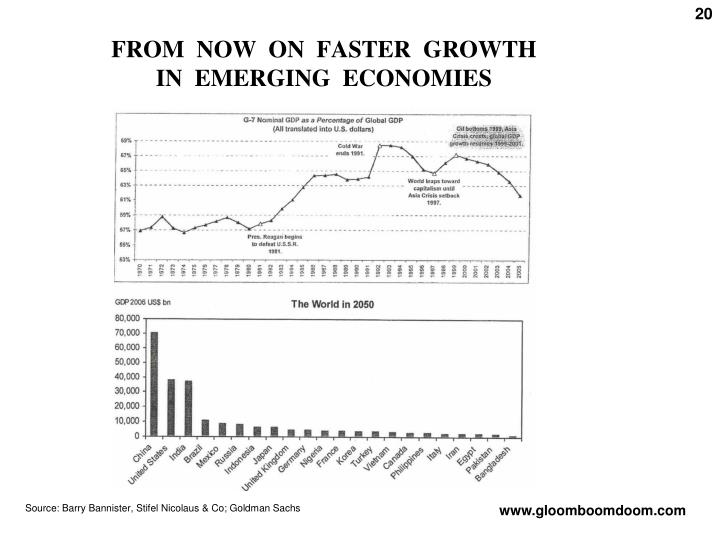 FROM  NOW  ON  FASTER  GROWTH