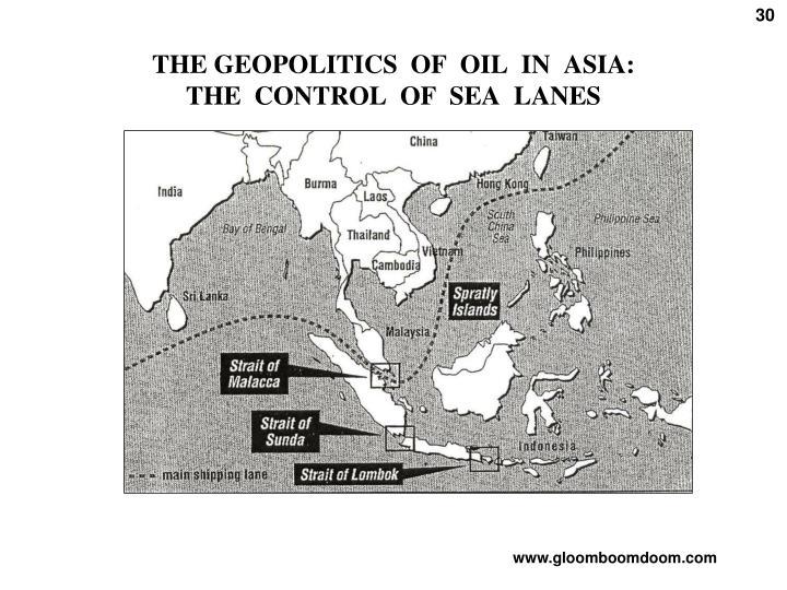 THE GEOPOLITICS  OF  OIL  IN  ASIA: