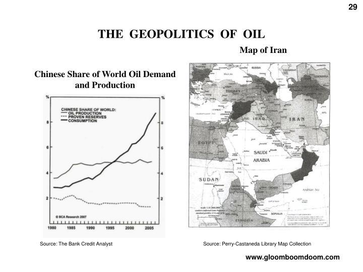 THE  GEOPOLITICS  OF  OIL
