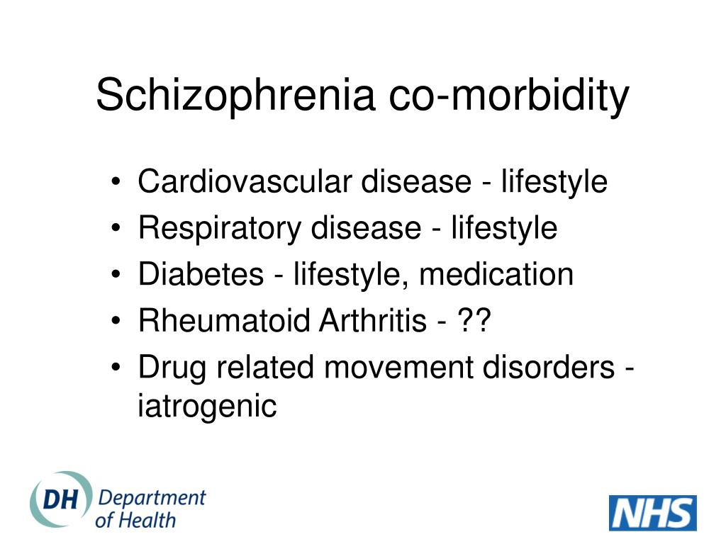 Schizophrenia co-morbidity