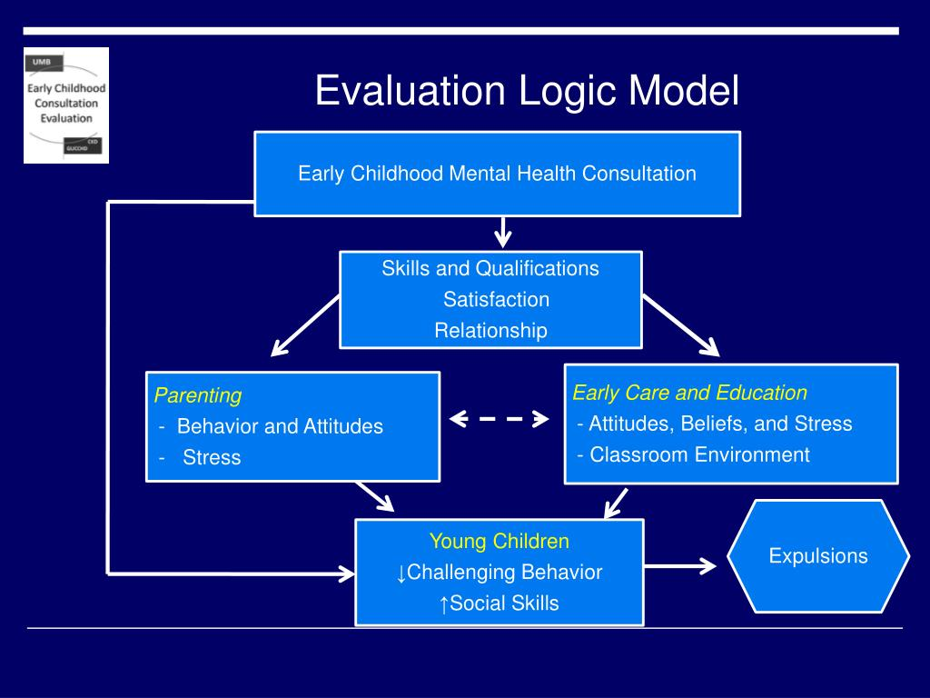 Evaluation Logic Model