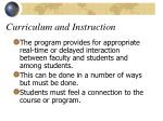 curriculum and instruction6