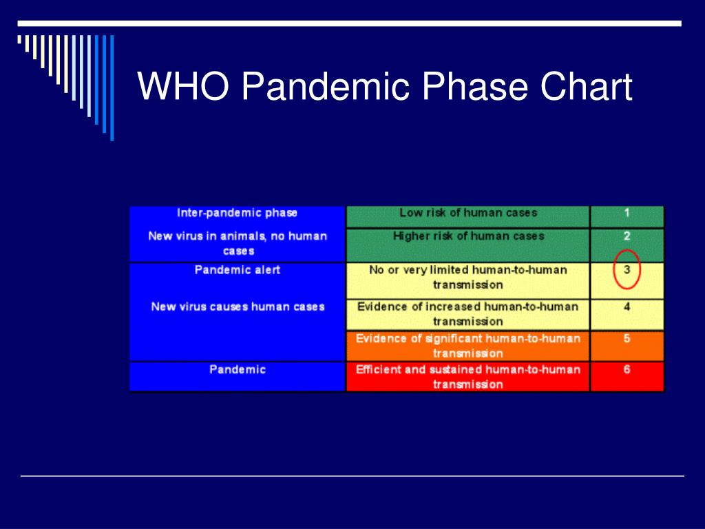 WHO Pandemic Phase Chart