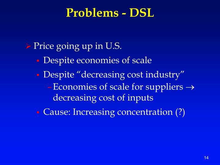 Problems - DSL
