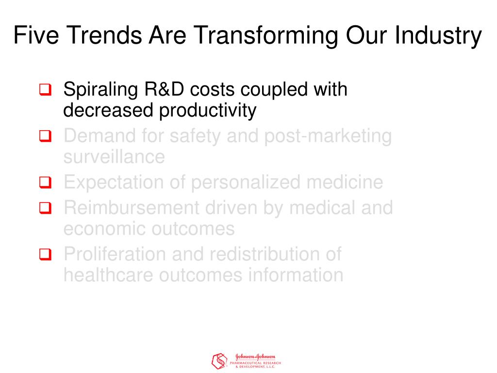 Five Trends Are Transforming Our Industry