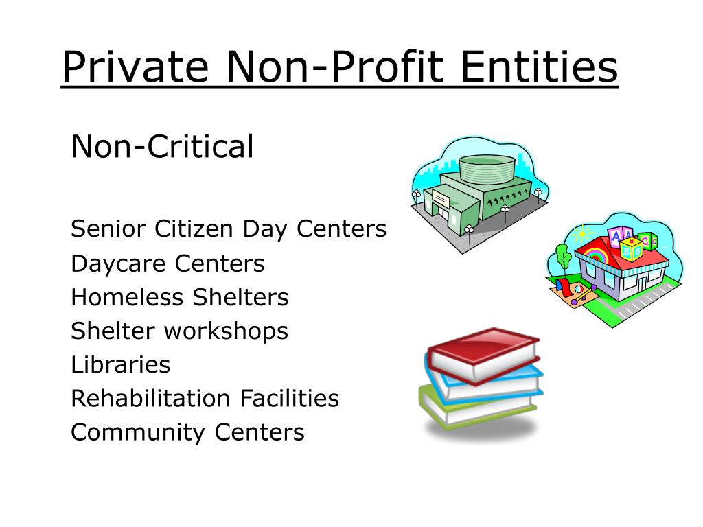 Private Non-Profit Entities