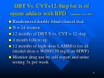 dbt vs cvt 12 step for tx of opiate addicts with bpd linehan et al 2002