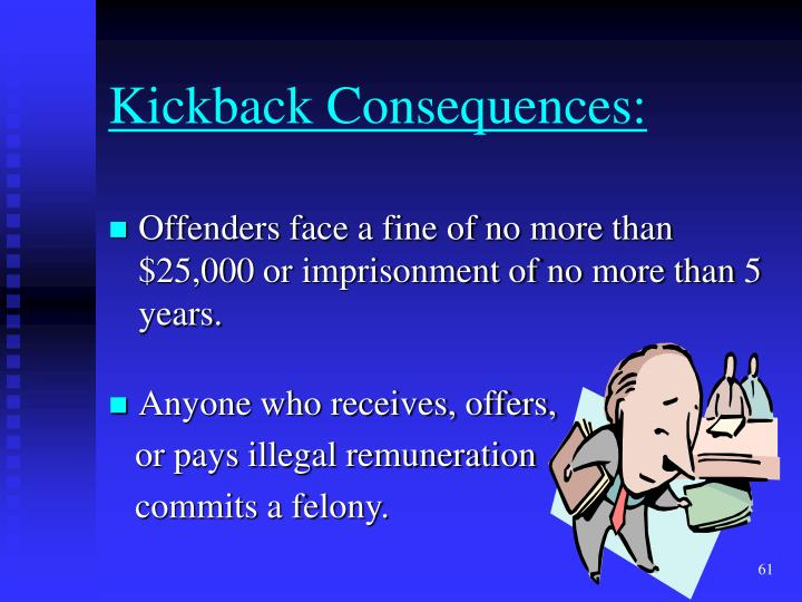 Kickback Consequences: