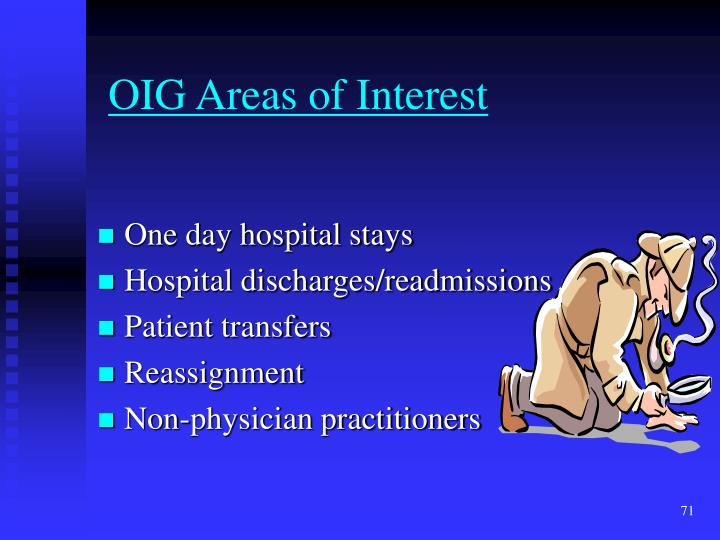 OIG Areas of Interest