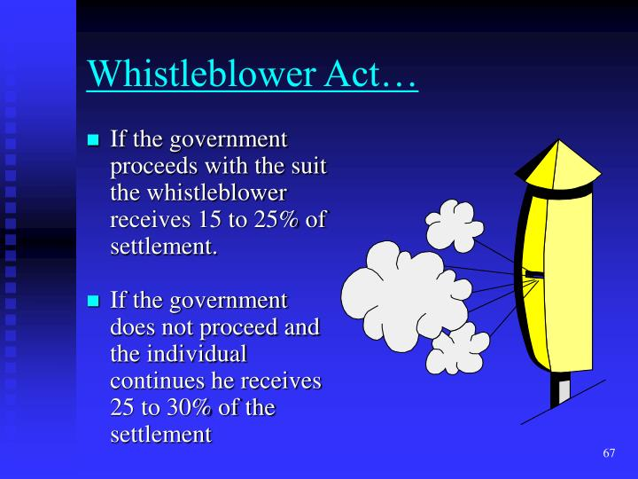 Whistleblower Act…