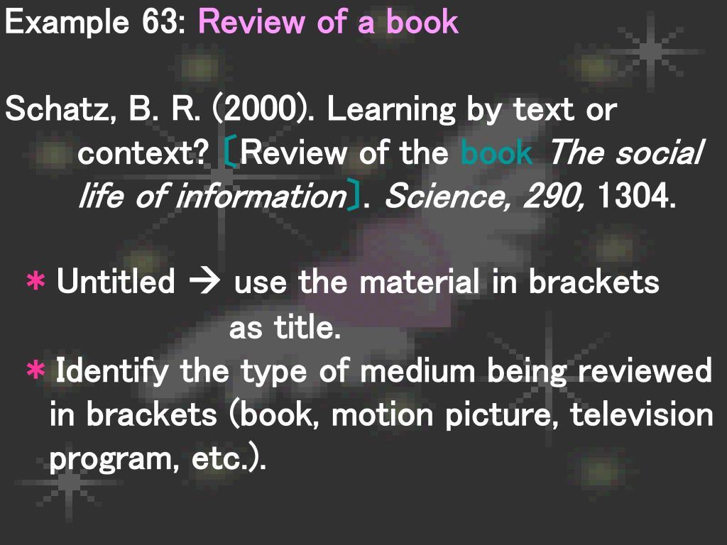 Example 63: