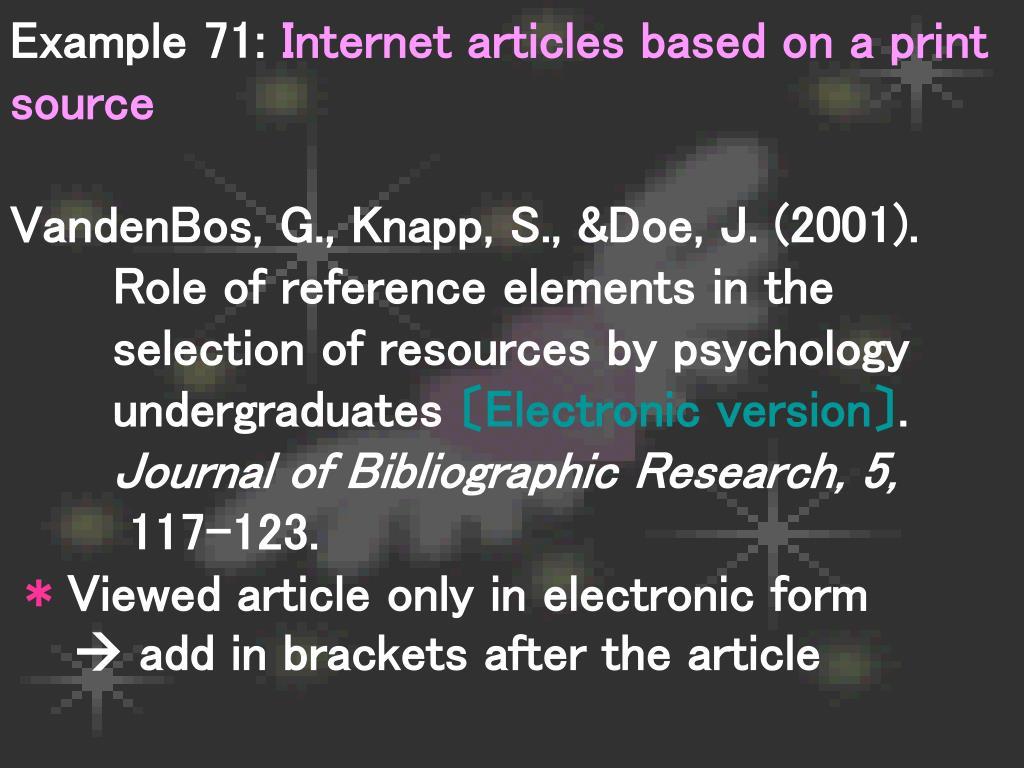 Example 71: