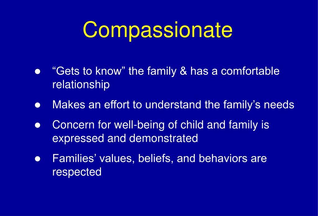 Compassionate