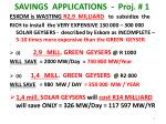 savings applications proj 1