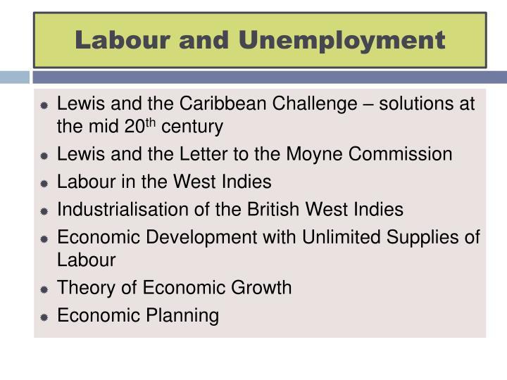 Labour and unemployment