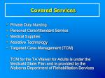 covered services56