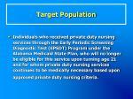 target population53