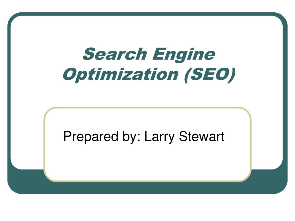search engine optimization seo l.