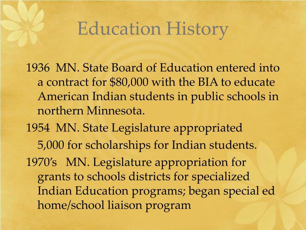 Education History