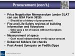 procurement con t