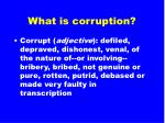 what is corruption5