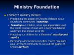 ministry foundation4