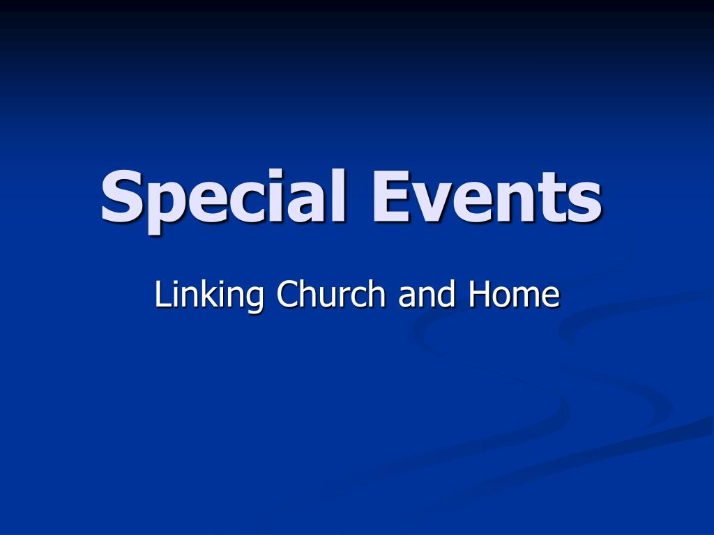 special events l.