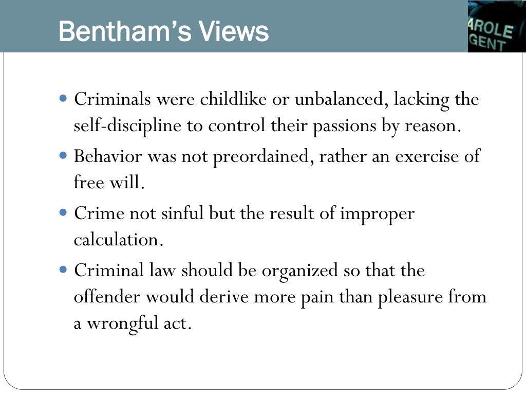 Bentham's Views