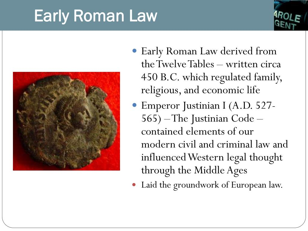 Early Roman Law