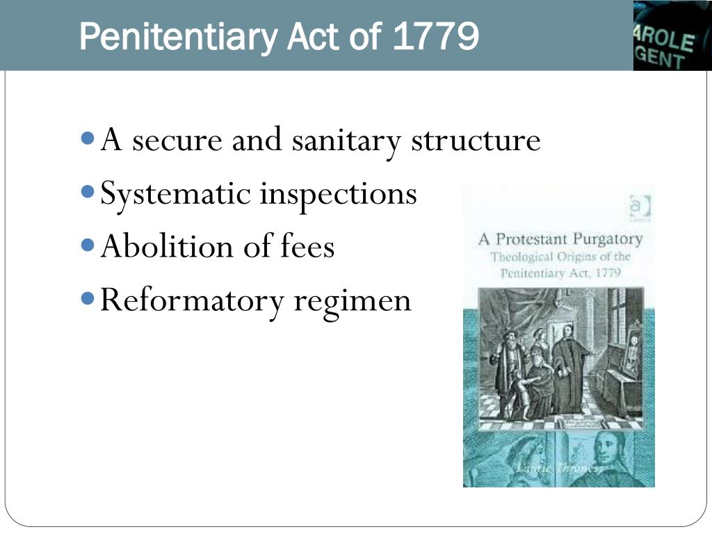 Penitentiary Act of 1779